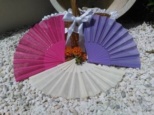 wedding fans nerja wedding spain